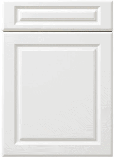 Traditional Bevelled Kitchen Door Design with False Drawer