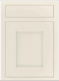 Bevelled kitchen door design